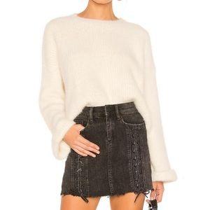 REVOLVE SUPERDOWN Fuzzy Knit Sweater XS NWT